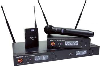 Audix Bezdrátové mikrofony