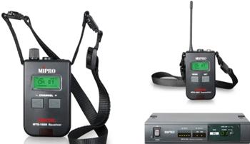 Mipro MTG-100 průvodcovský systém