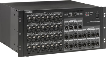 Yamaha I-O rackové stageboxy