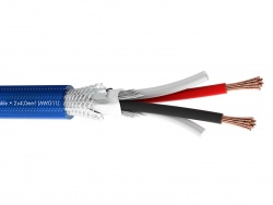 Sommer Cable 485-0052-240 SC-DUAL BLUE - 2x4mm