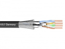 Sommer Cable 581-0071 MERCATOR CAT.7 PUR - černý