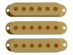 Bare Knuckle Strat Cover Cream set