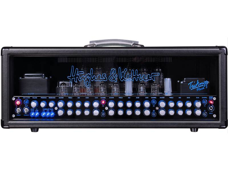 Hughes & Kettner Triamp MKIII 100 Watt Dual 3 Channel Tube Head | TriAmp - 1