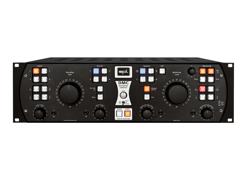 SPL DMC - mastering console - black | Analog Summing Mixers - 1
