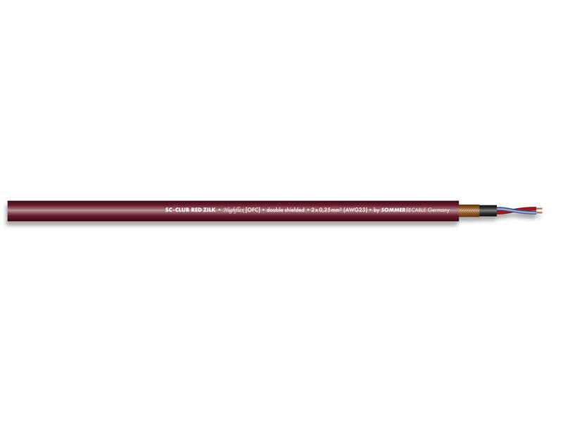 Sommer Cable 200-0713 CLUB RED ZILK | CLUB SERIES - 1