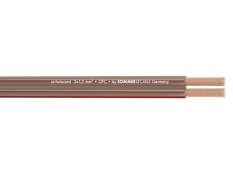 Sommer Cable 400-0150 TWINCORD 2x1,5 | Hifi Home - 1