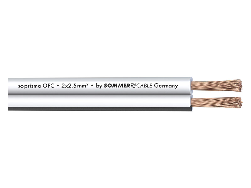 Sommer Cable 401-0250-WS PRISMA - 2x2,5mm | Hifi Home - 1