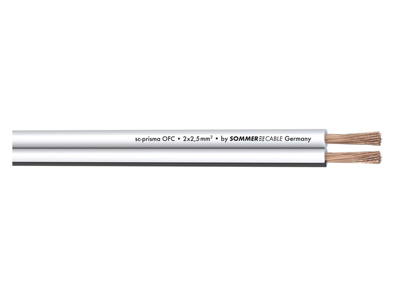 Sommer Cable 401-0250-WS PRISMA - 2x2,5mm | Hifi Home - 2