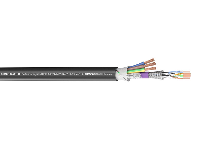 Sommer Cable 500-0151-1 MONOCAT 110C | KOMBINOVANÉ KABELY - 2