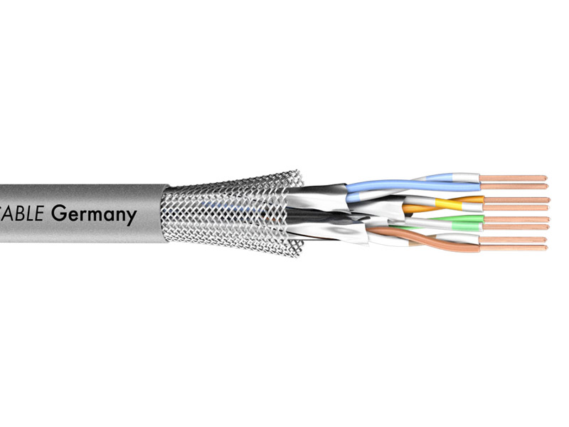 Sommer Cable 581-0076 MERCATOR CAT.7 PUR - šedý | CAT.7 - 1