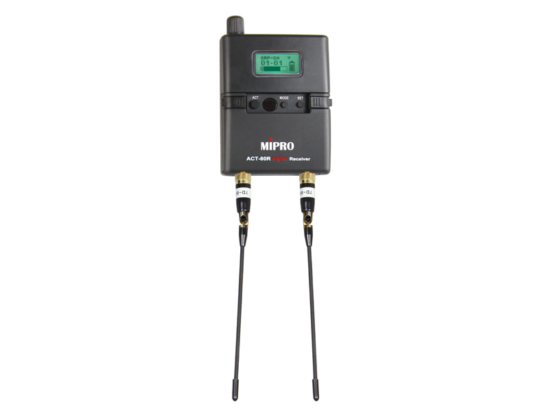 MIPRO ACT-80R - 5E 480-544MHz | ACT-8 Series - 1