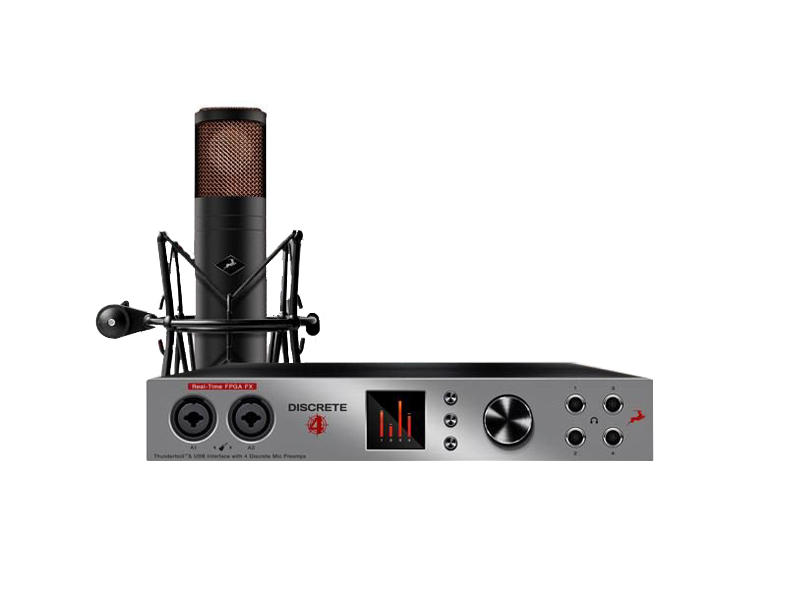 Antelope Audio Discrete 4 & Edge Mic SET | Zvukové karty, audio interface - 1
