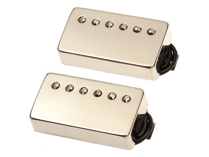 Bare Knuckle The Mule nickel covered set Humbucker | Humbuckers - 1