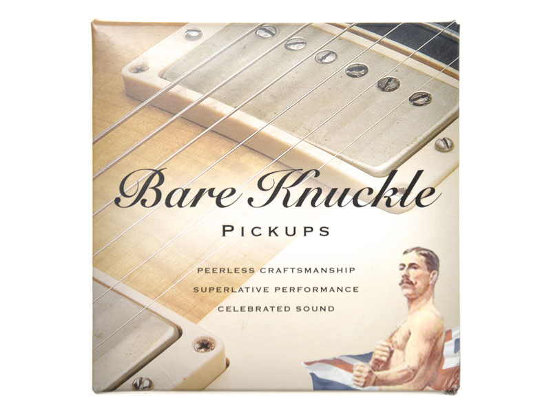 Bare Knuckle The Mule nickel covered set Humbucker | Humbuckers - 2