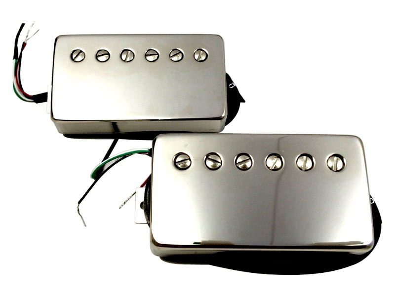 Bare Knuckle Rebel Yell calibrated nickel covered set Humbucker | Humbuckers - 1