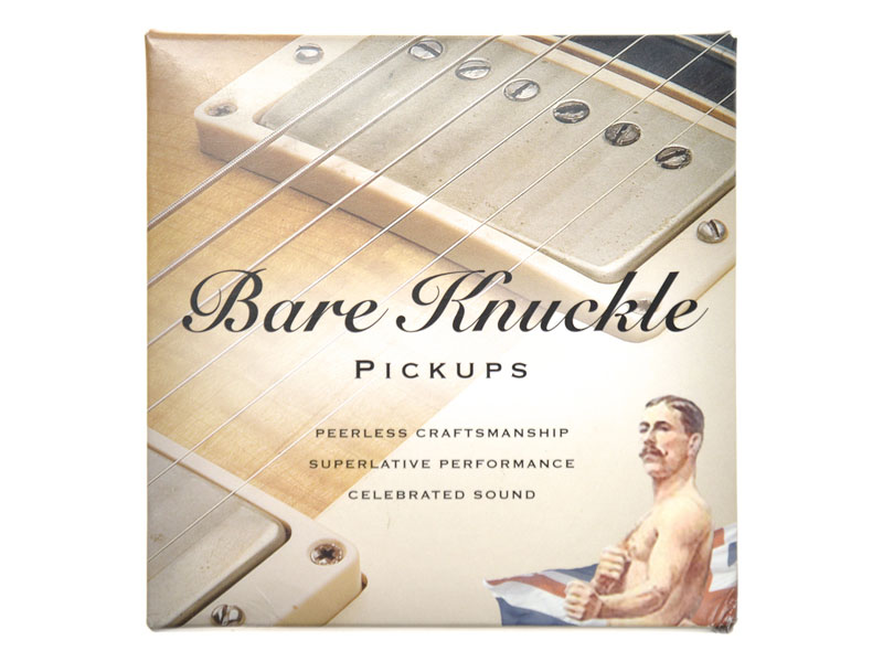 Bare Knuckle Rebel Yell calibrated nickel covered set Humbucker | Humbuckers - 3