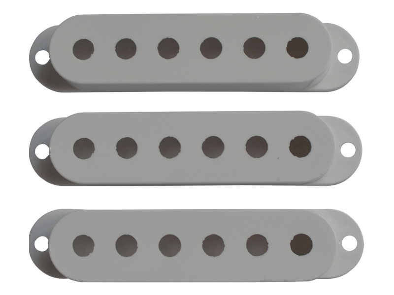 Bare Knuckle Strat Cover White set | Potenciometry - 3
