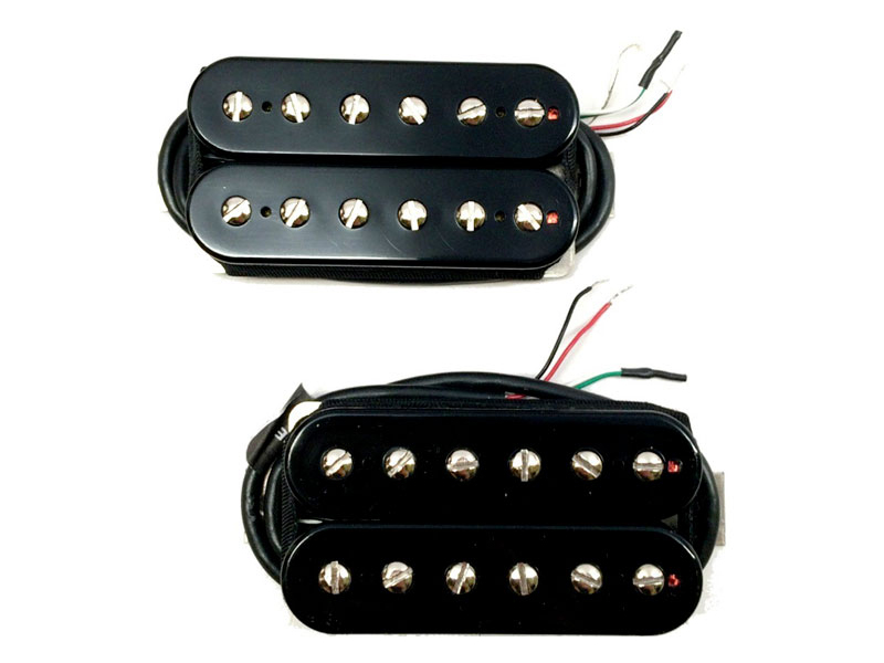 Bare Knuckle Juggernauts open bridge Humbucker Black 50mm | Humbuckers - 2
