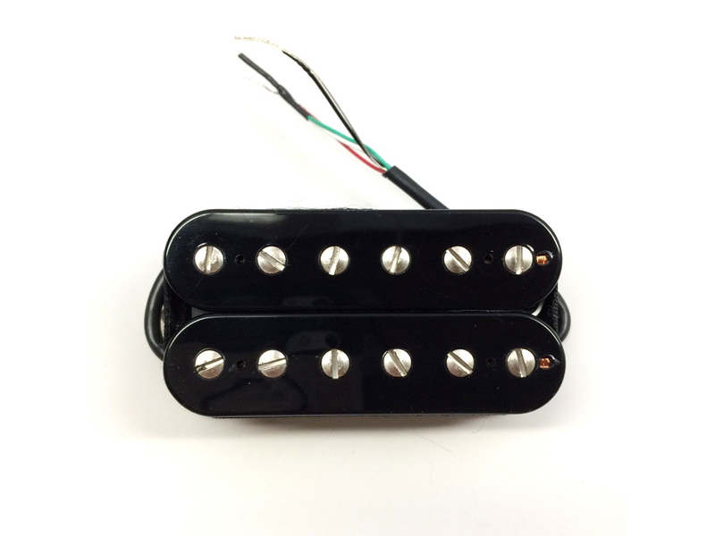 Bare Knuckle Warpig open bridge Humbucker Black 50mm Ceramic | Humbuckers - 1