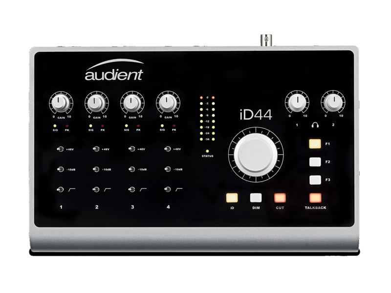 AUDIENT iD44 USB 20in/24out Audio Interface | USB zvukové karty - 1