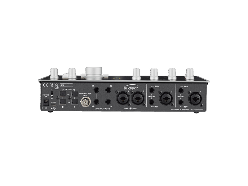 AUDIENT iD44 USB 20in/24out Audio Interface | USB zvukové karty - 4