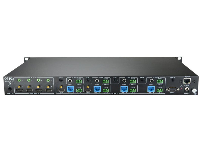Intelix INT-44HDX matice HDBaseT | HDMI a Twisted Pair - 2