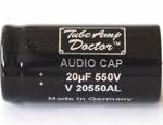 Kategorie Kondenzátory produktů Tube Amp Doctor