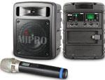 Kategorie Mobilní PA systémy produktů Mipro